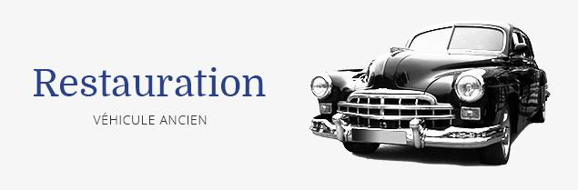 Restauration de véhicule ancien à Avensan
