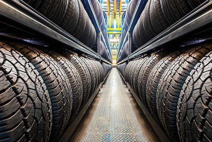 Un large choix de pneumatiques à votre disposition